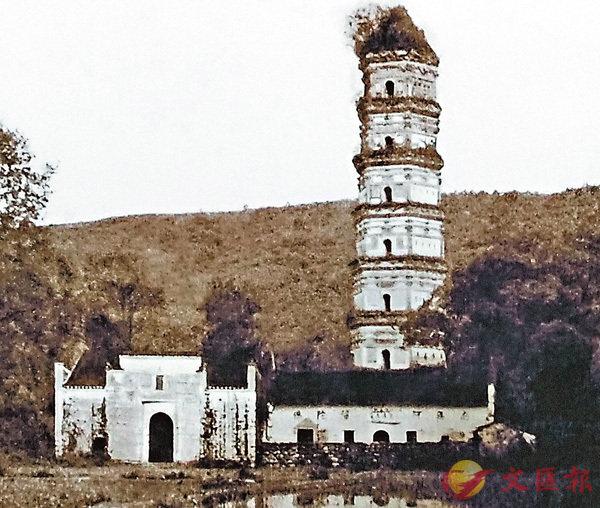 ■廬山最早的寺院之一--西林寺的資料圖片。 作者提供