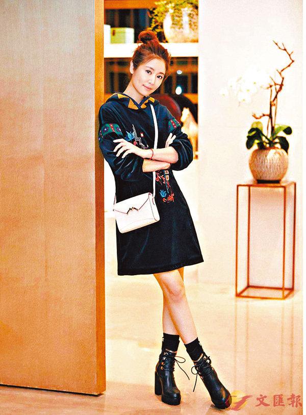 ■林心如身穿SHIATZY CHEN 2018秋冬女裝系列。