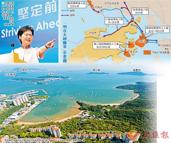 【2018施政報告之填海建島】東嶼填海變身 建港最大市鎮