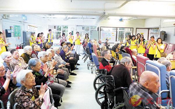 ■香港人口老化問題將會越來越嚴重。 資料圖片