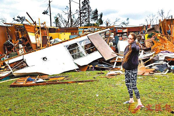 ■災民痛失家園。 法新社