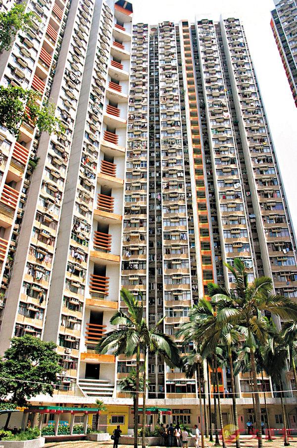■長安�h面積349方呎單位於居二市場以呎價5,587元易手。 資料圖片