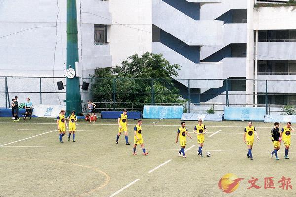 發生打球證事件的球場,事後繼續有比賽進行。