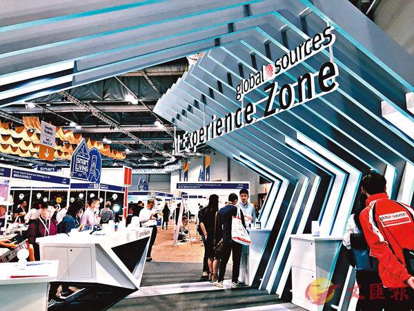 ■秋季「環球資源電子展」上周揭幕,來自內地的參展商在展館內佔主導,其中「電子遊戲產品專區」最受歡迎。
