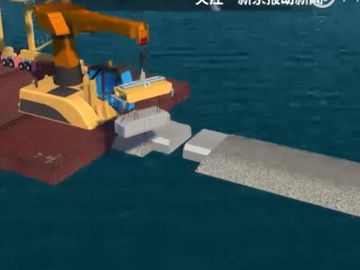 3D解密港珠澳大橋海底隧道裝接過程