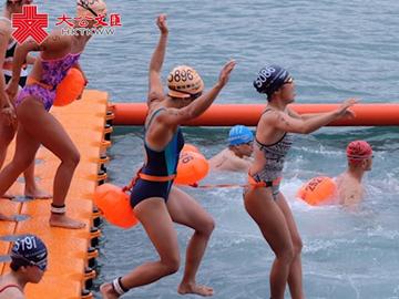 泳士出征 2018維港泳舉行