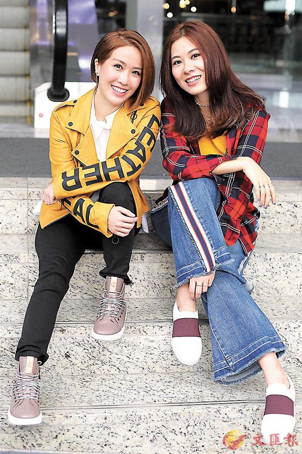 ■兩位熱愛音樂的女孩Robynn & Kendy穿上ECCO全新秋冬系列