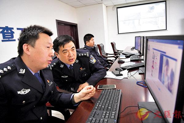 ■ 有限的警力无法实时监控过千万「天眼」,AI人脸识别技术可弥补这一缺陷。 资料图片