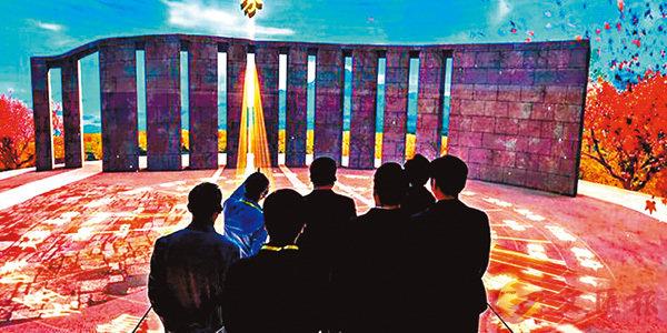■ 臨汾博物館利用3D技術將參觀者帶到了4,000年前的陶寺觀象台。 網上圖片