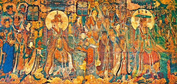 ■永樂宮三清殿壁畫《朝元圖》(局部)