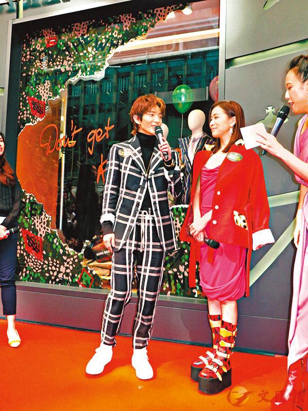 ■李準基讚阿佘是個有型的女演員。