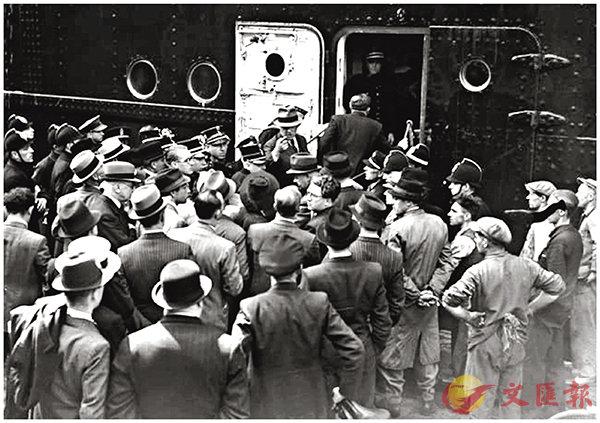 ■「聖路易斯」號上的移民被加拿大拒絕入境。 網上圖片