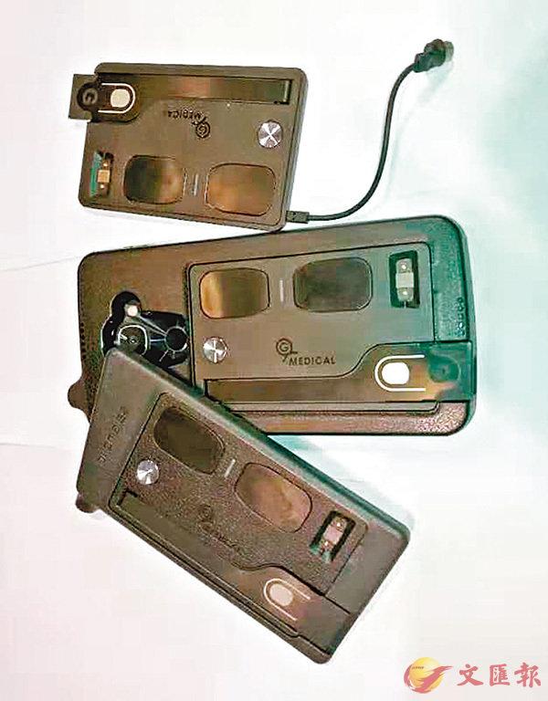 ■可監測人體健康數據的智能手機殼。