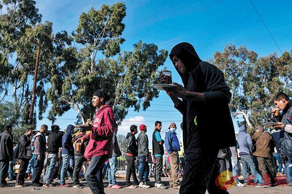 ■非法移民居住環境惡劣。 法新社