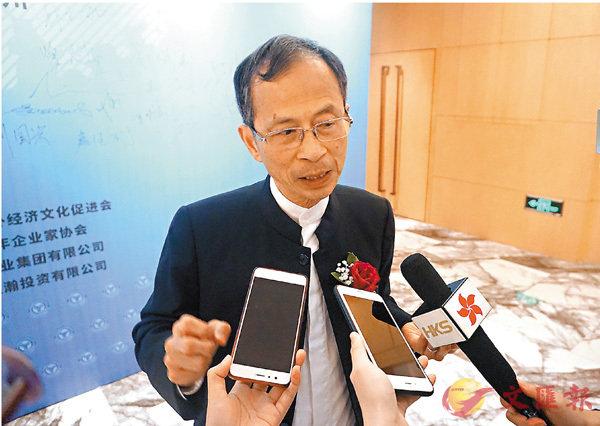 ■香港立法会前主席曾钰成呼吁港青发挥所长抓住大湾区建设机遇。 香港文汇报记者敖敏辉摄
