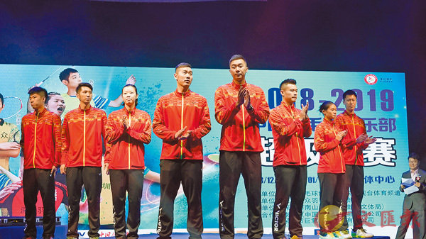 ■本届中国羽毛球超级联赛正式开锣。  香港文汇报记者何花 摄