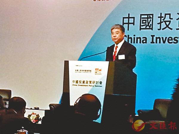 ■唐文弘期望香港工商業界能進一步深化與內地在國際合作園區等開放平台載體的建設。岑健樂 攝