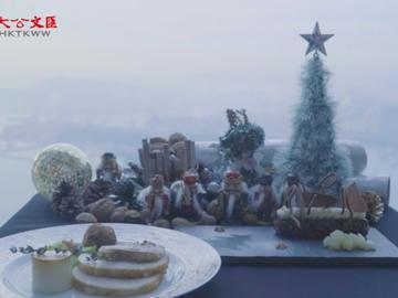天際100觀景台打造浪漫聖誕