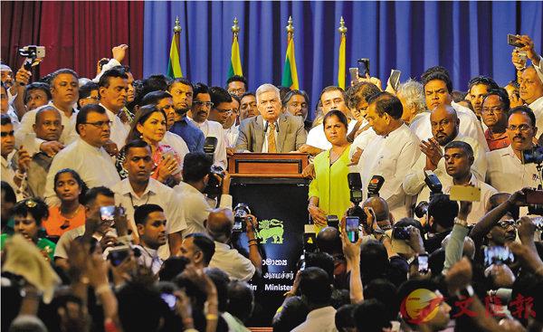 斯里蘭卡總理復職 結束憲政危機