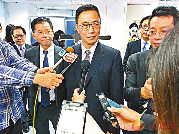 ■楊潤雄指,會根據實際情況考慮相關建議。 香港文匯報記者詹漢基  攝