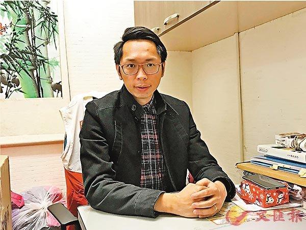 ■陸頌雄盼為SEN學童爭取額外津貼,達至因材施教。 香港文匯報記者陳珈琋  攝