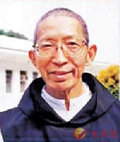 ■神樂院88歲神父。