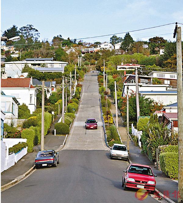 ■新西蘭南部城市但尼丁。香港文匯報資料圖片
