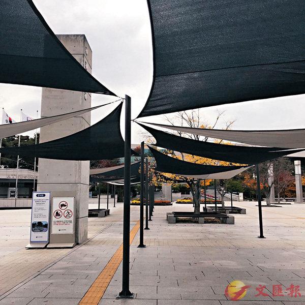 ■首爾韓國博物館外一景。作者提供