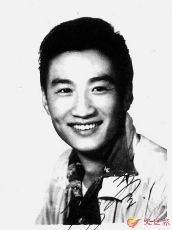 ■圖為光藝電影公司時代的年輕謝賢。(相片取自文中提到的《現代萬歲-光藝的都市風華》一書,香港電影資料館2006年出版。)   作者提供