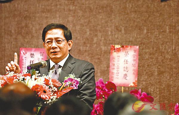 ■昨日,台灣大學舉行第12任校長職務交接典禮,管中閔正式就任校長。 中央社