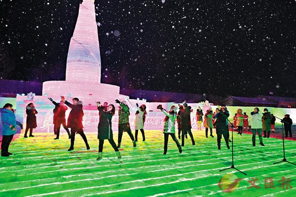 ■中國最北冰雪樂園-漠河市「北極夢幻冰雪樂園」正式開園迎客。
