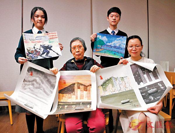 ■「欣賞-我們的香港」將於本月21日至24日於香港中央圖書館展出。香港文匯報記者劉國權攝