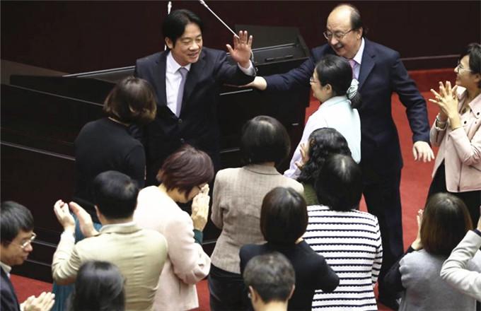 賴清德今率「內閣」總辭 傳蘇貞昌接任