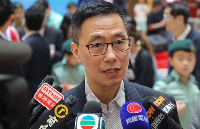 國歌法草案|楊潤雄:不涉及內地干預香港教育事務