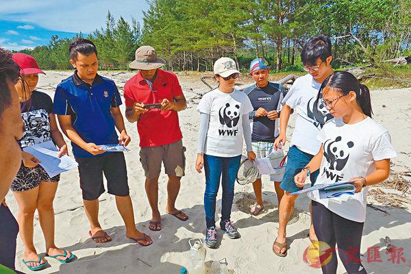■青年領袖遠赴馬來西亞考察,了解當地如何進行海洋保育。
