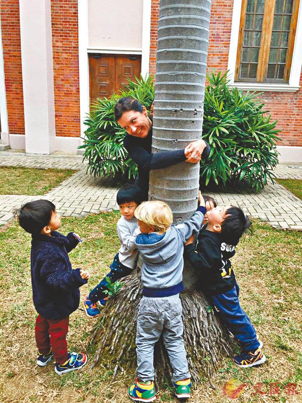 ■研究指願意為大自然負責的兒童,亦較少出現人際問題。 港大供圖