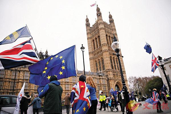 ■英國脫歐後,英文可望繼續留歐發展。 資料圖片