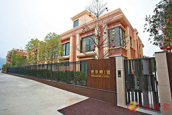 ■寶翠灣1號逾兩成單位租出。