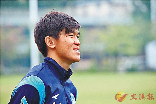 ■陳俊樂對前途仍充滿信心。 香港文匯報記者黎永淦  攝