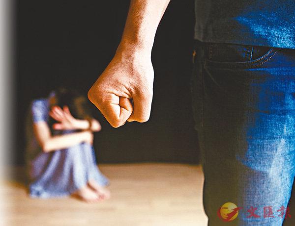 ■家庭暴力在社會上不時發生。 網上圖片