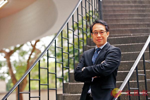 ■陳鳳翔指出,在中美貿易摩擦之下,東南亞會成為未來發展的重點。香港文匯報記者莫雪芝  攝