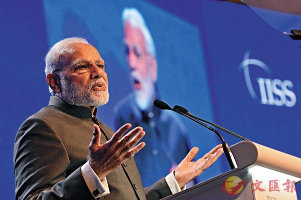 ■有與會學者認為重力波應更名為「納倫德拉莫迪波」,即是以印度總理莫迪命名。 資料圖片