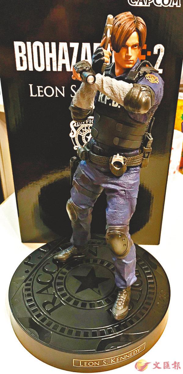 ■限定版附送Leon的12吋人偶。