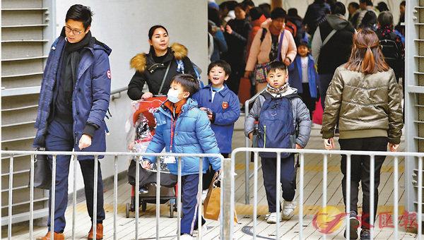 ■一名兩歲男童感染甲型流感其後死亡,是今次冬季流感高峰期首次出現兒童死亡個案。資料圖片