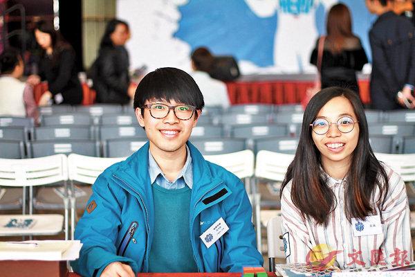 ■特殊教育支援老師黃厚豐(左)