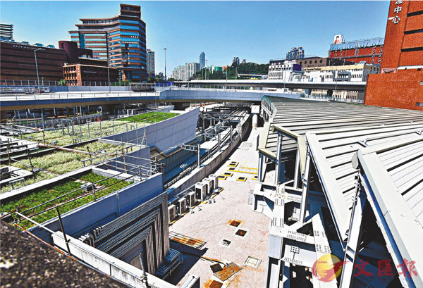 ■沙中線紅磡站3處施工記錄缺失。 資料圖片