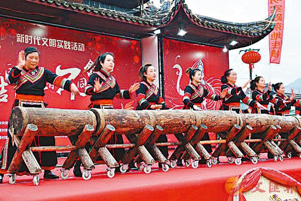 木鼓舞被譽為�埜睇R蹈的「活化石」。