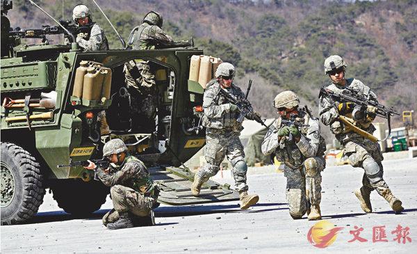 ■特朗普曾威脅會從日本、韓國等盟國撤軍。 美聯社