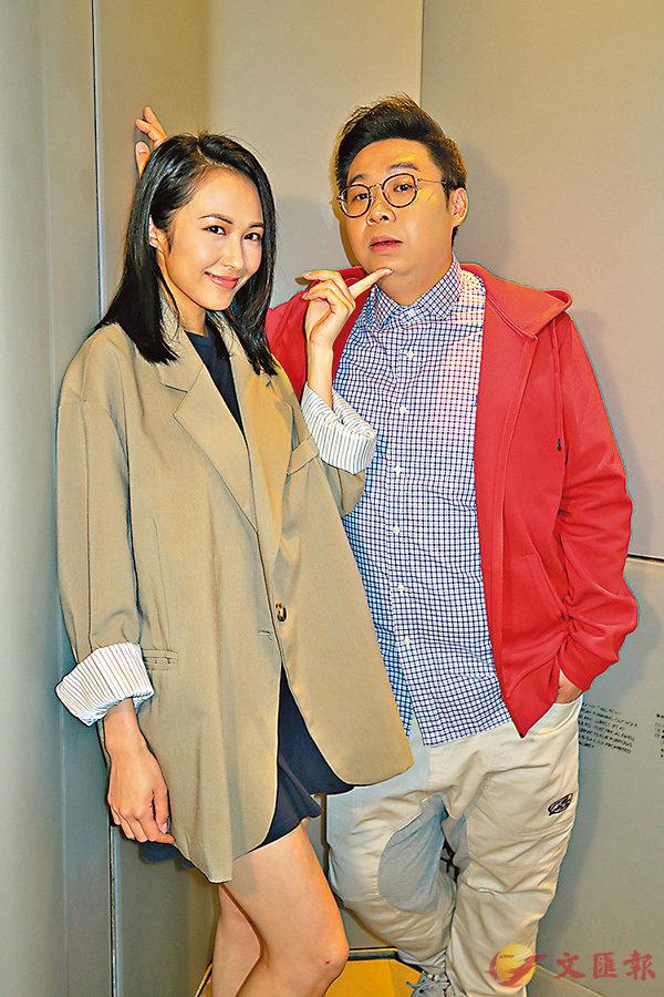 ■湯怡和何遠東喜見自己成為2千萬演員。