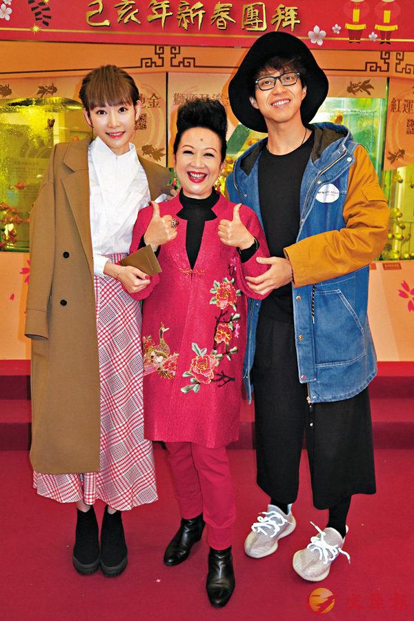 ■坤哥孖緋聞女友Aka和家燕姐出席活動。